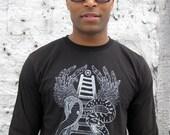 CELESTIAL LADDER - mens tshirt - organic cotton - last one XL