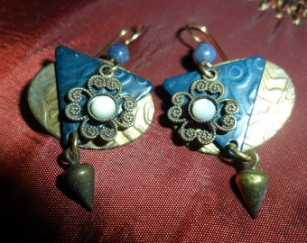 Earrings 1980 BOHO