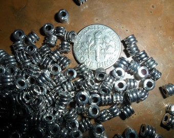Tiny Silver Spacers