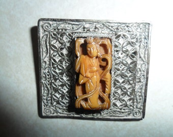 Collectable Vintage Chinese Brooch