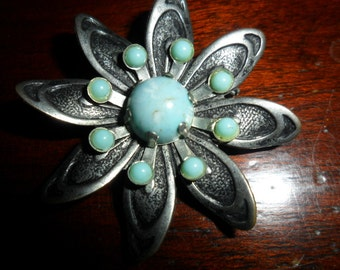 Vintage Flower Pendant
