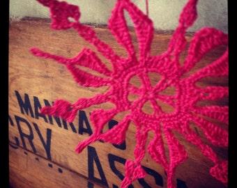 Crochet Snowflake Decoration