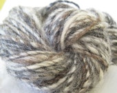 Moving Sale, 80% off, Recycled Wool Mix Hand Spun Yarn - 70 yards - Single Ply
