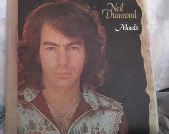"Neil Diamond ""Moods"" 33 1/3 Record"