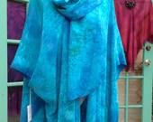 Ruana Pre-Sewn Dye-Ready Silk Garment Kit