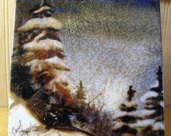 Winter Wonderland Tile UP of Michigan Marquette