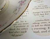 """Upcycled Novel Envelope Seals - """"Emma"""" - 12"""