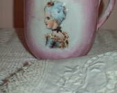 Reserved for Coco only Just a Beautiful antique cup