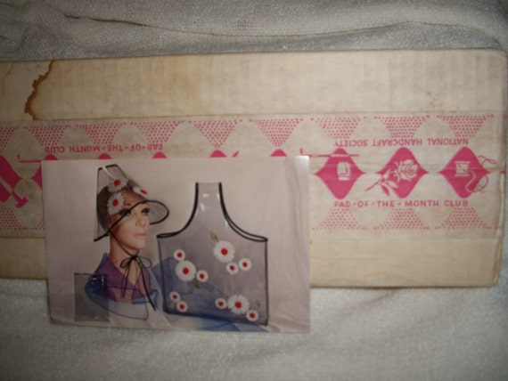 DYI VinylTote and Hat Craft Kit: SOLD/RESERVED for Jazz Vintage