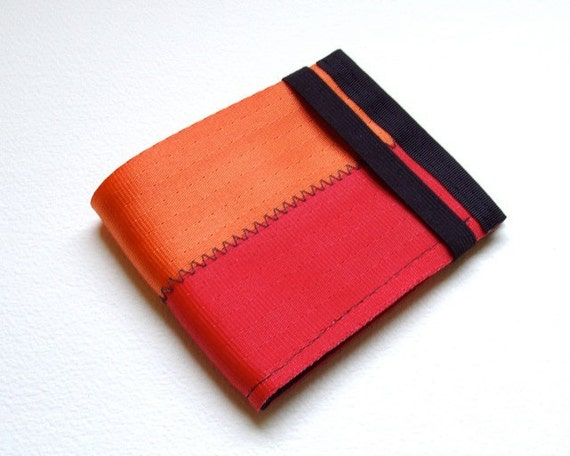 Seatbelt Wallet with Coin Pocket