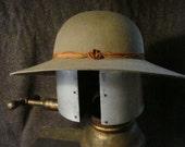 "Women's Sun Hat - Tan Western Fur Felt. 4 inch brim, 4 1/4 inch crown. ""The New Mexico Sun"""