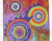 Art Quilt - Deco Study 2
