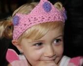 CROCHET PATTERN - Little Prince Crown & Little Princess Tiara
