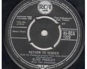 Elvis 1962 single 'Return to Sender'
