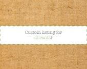 custom listing for dbrantz