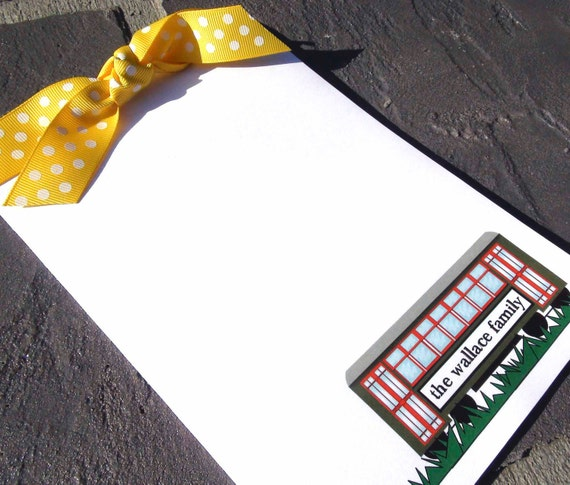 14- New Orleans Streetcar Personalized Notepad