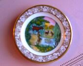 Franklin Porcelain Best Loved Fairy Tales Three Billy Goats Gruff