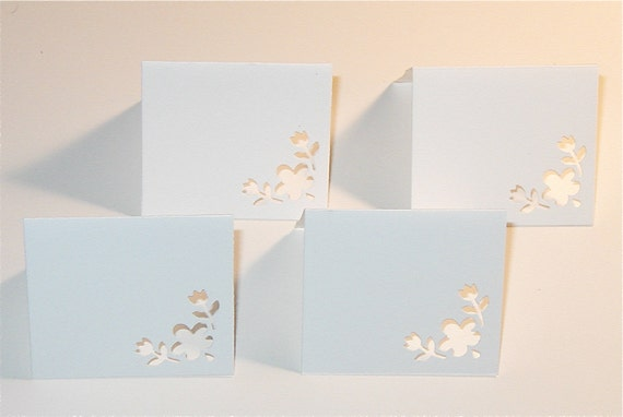 30 teeny tiny square white notes RESERVED  FOR PATRICE