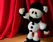 Valentines Amigurumi PDF Pattern (Crochet  pattern) : Pierrot in love