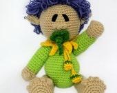 Bubble, The Baby Elf: Amigurumi PDF Pattern (Crochet Pattern)