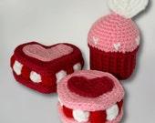 Love cookies: Amigurmi PDF Pattern (crochet pattern)