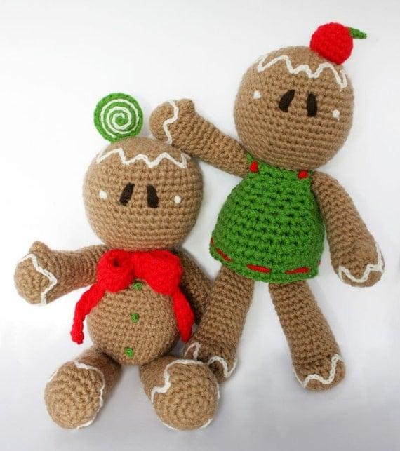 Items Similar To Gingerbread Man PDF Pattern (Amigurumi