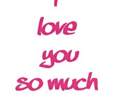 I love you so much I want to f...your brains out - Intimate Greeting Card MATURE