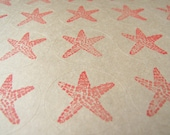 Starfish Envelope Seals in Coral by Kiwi Tini Creations