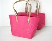 Wedding Welcome Bags,  Pink Blossom gift bags