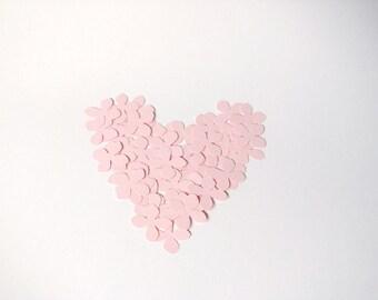 Blush Confetti, Pink Petal Confetti by Kiwi Tini Creations