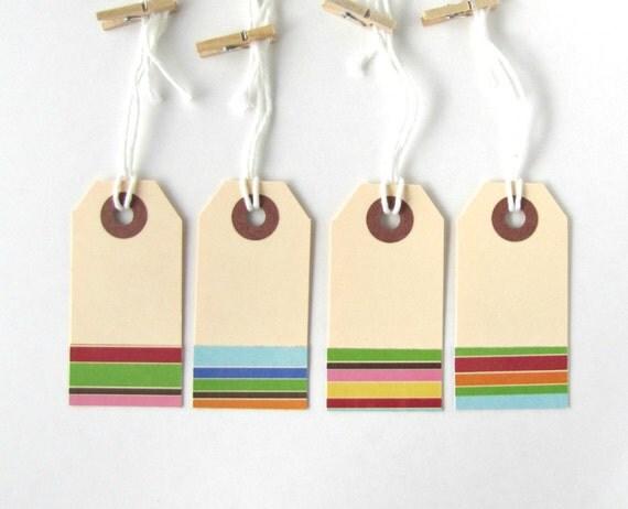 Gift tags, favor tags, manila tags, christmas tags