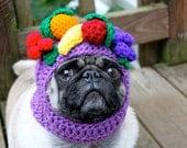 Dog Hat - Carmen Miranda Fruit Bowl/ Made to Order