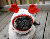 Dog Hat - Sweetheart Be Mine/ Made to Order