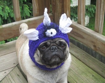 Dog Hat - Flying Purple People Eater/ Made to Order