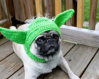 Yoda - Dog Hat - Alien/ Made To Order