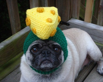 Cheesehead Wisconsin Dog Hat / Made to Order