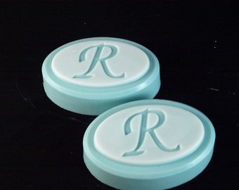 Monogrammed Soap - gift set scented in Lilac
