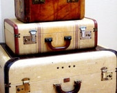 Reserved - Large Vintage Paul Bunyan Trunk