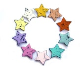 Star brooch, PICK your FAVORITE COLOR