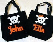 Personalized Trick or Treat Halloween Bag Baby Toddler