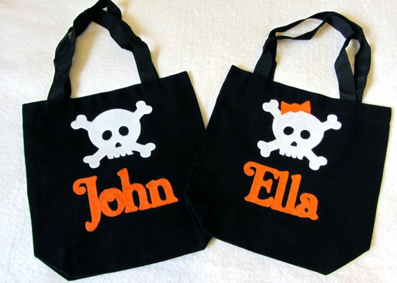 Halloween Bags free printable halloween treat bags Personalized Trick Or Treat Halloween Bag Baby Toddler