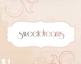 Premade Vintage Shabby Etsy Shop Set  - -  7 piece OOAK  - -  Sweet Dearms