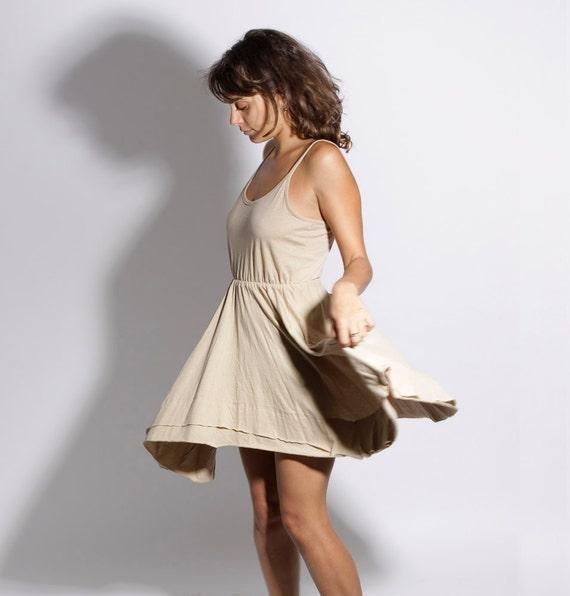 NOW  50%OFF, Jersey Dress Gold