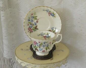 Vintage Tea Cup Royal Albert Bone China Tea Cup Summertime series
