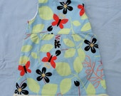 Sleeveless butterfly dress fits 16 to 18 inch Waldorf Doll