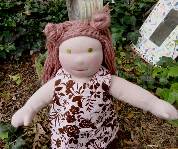 ON HOLD for BroderickToys Celia Rose 18 inch all natural doll Waldorf inspired