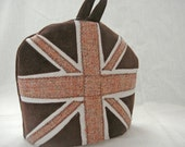 Chocolate Union Jack Tea Cosy