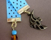 Adorable fish ribbon bookmark.