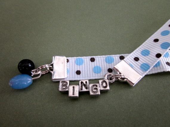 B I N G O ribbon bookmark.
