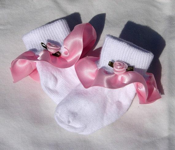 how to make ruffle socks